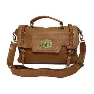 Danier Genuine Leather Large Crossbody/Messenger
